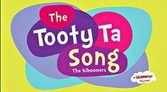 It's the Tooty Ta dance song! Great for toddlers, preschoolers, and kindergarteners. Learn body parts and dance along!