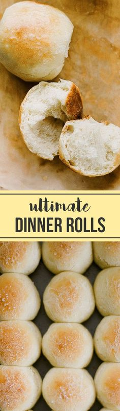BEST EVER DINNER ROLLS! I still can't believe how EASY these are! Everyone loved them, and they can be made ahead of time!