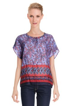 Vente Somewhere / 11982 / Tops / Chemises et Blouses / Blouse Violet