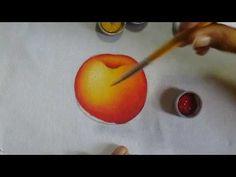 Pintando maçã simples (para iniciantes) - Ivanice Isabel - YouTube