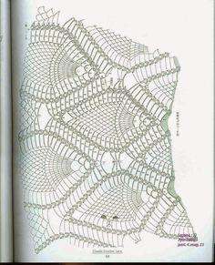 "Photo from album ""Ondori Classic Crochet Lace on Yandex. Crochet Tablecloth Pattern, Crochet Doily Diagram, Crochet Chart, Crochet Doilies, Crochet Lace, Crochet Patterns, Mantel Redondo A Crochet, Free Pattern, Throw Pillows"