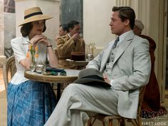 Marion Cotillard Brad Pitt Allied People Zemeckis