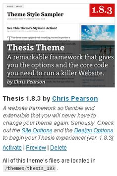 Thesis 18 theme demo