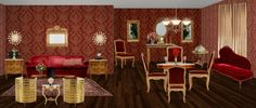 Classic living room/ dining room