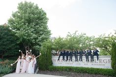 Wheaton College wedding photography by Missy at Elite Photo