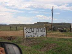 traffic control Nebraska style