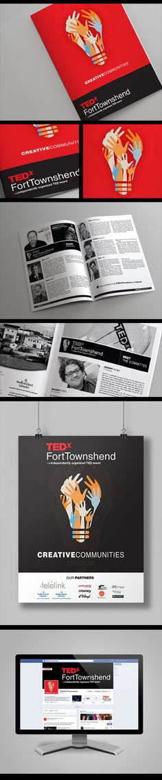 TEDx Fort Townshend - Creative Communities on Behance