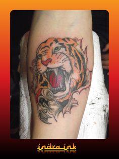 Indra ink Tiger