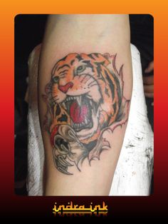 Indra ink Tiger