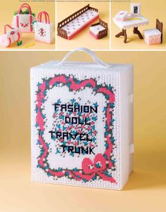 Fashion Doll Travel Trunk Pg. 26/26 full booklet https://www.pinterest.com/donnamom123/~fashion-doll-travel-trunk~in-plastic-canvas/