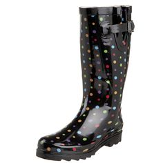 Western Chief Women's Ditsy Dots Rain Boot ** Details can be found by clicking on the image.