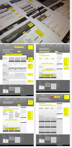Ideas Wireframes