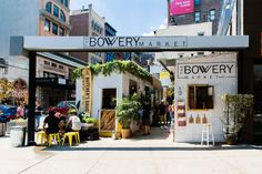 From an open-air Bowery market to the only place you need to be eating near Penn Station.