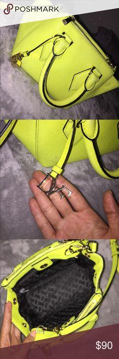 Diane von furstenburg mini purse Neon yellow mini purse by DVF Diane von Furstenberg Bags Mini Bags
