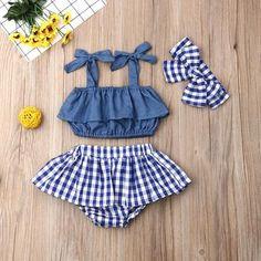 Conjunto Bebê Menina Fofo de 0 a 3 anos-IncomunStore – Incomun Store