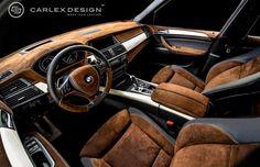 Carlex Design Gives the BMW X5 a Remixed Chocolaty Interior | Complex UK