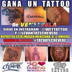 Quieres tatuarte gratis algo alusivo a Venezuela? Si estás en Madrid sigue las instrucciones