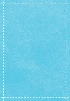 Sky blue gift tag with white stitching around the edge.  The site also has them in orange, pink, and green, but not particularly attractive shades of them.