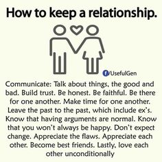 How to keep a relationship @GottaLoveDesss