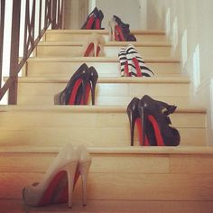 red bottoms YES PLEASE!!!! | SHOES ;) | Pinterest | Red Bottoms ...