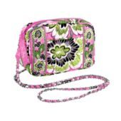 vera bradley-mini chain bag in priscilla pink