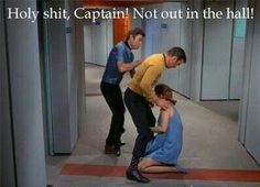 Star Trek moment...