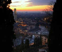twilight in Verona