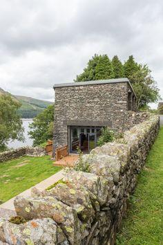 Luxury waterside lodge on Haweswater reservoir in the Lake District