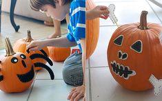 Forma divertida de decorar la calabaza con niños - Especial Halloween 2011 - Especiales - Charhadas.com