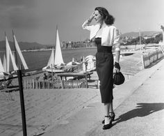 This Is What the Cannes Film Festival Looked Like in the '50s via @WhoWhatWear