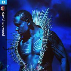 Julie Taymor's A Midsummer Night's Dream, makeup by me Repost @davidharewood @theatreforanewa ・・・Oberon.#newyork #2014 #makeup #makeupartist #andrewsotomayor #msnd #amidsummernightsdream #julietaymor #bodyart #makeupart #blue #bodypainting #macpro #mac #shakespeare #theatreforanewaudience #Blue #cool #shoutout #photo