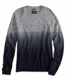 Ombré sweater .