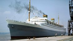 The Nieuw Amsterdam was a Dutch ocean liner built in Rotterdam for the Holland America Line. This Nieuw Amsterdam, the second of four Holland America ships w. Rotterdam, Holland America Line, Us Sailing, Shore Excursions, Sail Away, Beautiful Ocean, Ways To Travel, Battleship, Cruise Ships