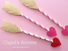 Cupid's arrow Valentine's Day craft!