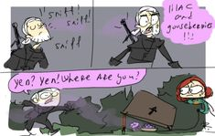The Witcher 3, doodles 105 by Ayej