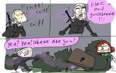 The Witcher 3, doodles 105 by Ayej.deviantart.com on @DeviantArt
