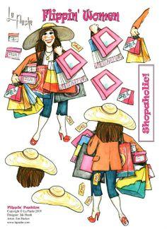 Flippin' Women - Shopaholic