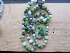 Snake Totem Mala by MagickAlive on Etsy, $65.00