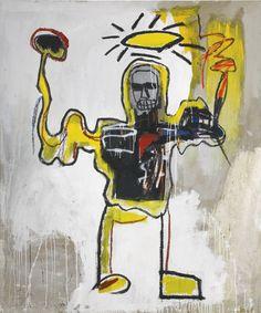 Jean-Michel Basquiat UNTITLED (THE BLACK ATHLETE) 3,500,000 — 4,500,000 GBP 5,418,000 - 6,966,000USD Lot. Vendu 4,069,000 GBP (6,298,812 USD )