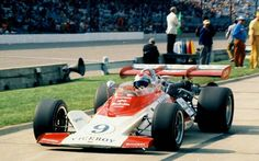 Mario Andretti at the 1972 Indy 500