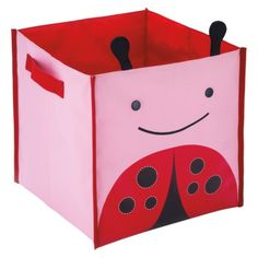 Skip Hop Zoo Storage Bin - Ladybug. making picking up their toys a bit more cheerful!