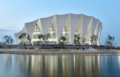 gmp architekten: shanghai oriental sports center now complete