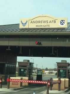 Andrews AFB Main Gate