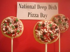 Every Day Should Pop!: Deep Dish Pizza Day