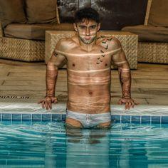 "68 Likes, 2 Comments - Richard Rothstein (@rjr10036) on Instagram: ""#reflection#ripples#swimmer#pool#speedo#ink#bodyart#queerart#gayart#tattoos#malebeauty#eccehomo#eyes#comehither#seduction#fit#fitness#hellskitchen#manhattan#wet#splash#poolside#aquaman#water#aquarius"""