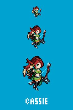 Cassie - The Hunter's DaughterEmote/Sprite for Paladinshttp://www.paladins.com/