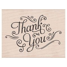 Hero Arts Mounted Rubber Stamps x Thank You W/Flourishes Calligraphy Thank You, Calligraphy Letters, Modern Calligraphy, Letras Cool, Doodles, Brush Lettering, Lettering Styles, Lettering Ideas, Cursive