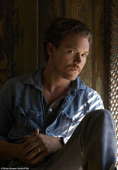 Partner: Clayne Crawford plays Damon's slightly unstable partner Martin Riggs