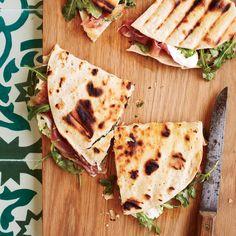 Prosciutto-Mozzarella Piadine Recipe | Food & Wine