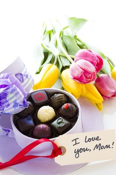 What are you getting your #mom for #mothersday? #truffles by PL&C, perhaps?
